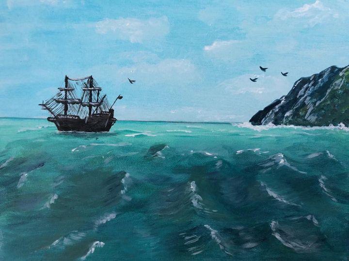 Pirate ship - JavuArts