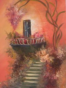 The Balcony of Envy - Krist Art Styles