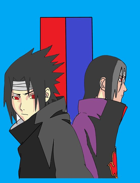 Sasuke and Itachi Fan Art - DHudson19