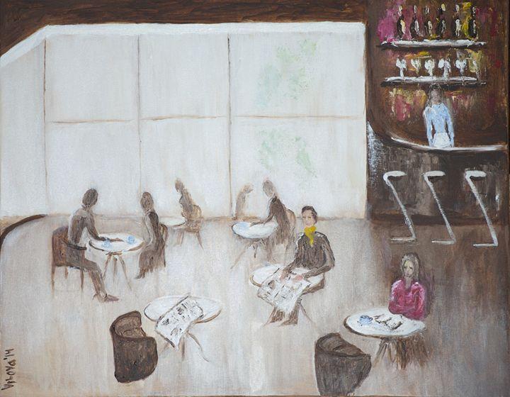 Cafe Scene - Vilova gallery