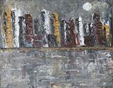 Original Acrylic Modern Abstract