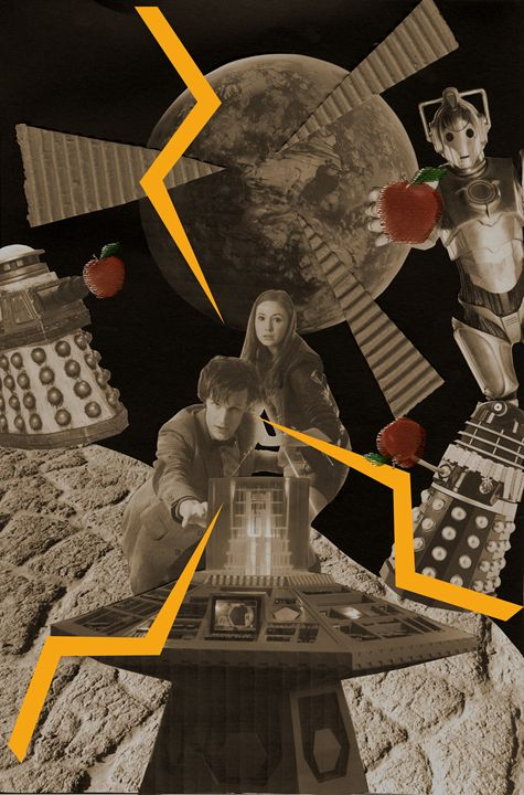 Dr.Who Collage - JL designs