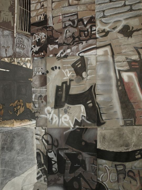 Melbourne Graffiti Collage - JL designs