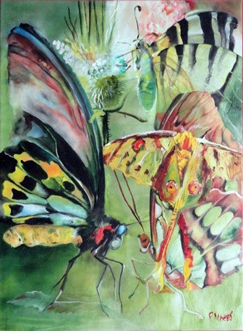 Butterflies - Manev Art