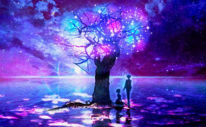 The Galaxy Tree - Wu Jin Long Art