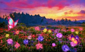 Valley of Crystal Flowers