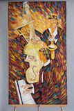 """Jazz Band"" Painting Hose Ejatica"