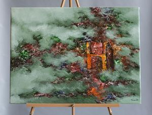 """Ruins"" Painting by Mauh"