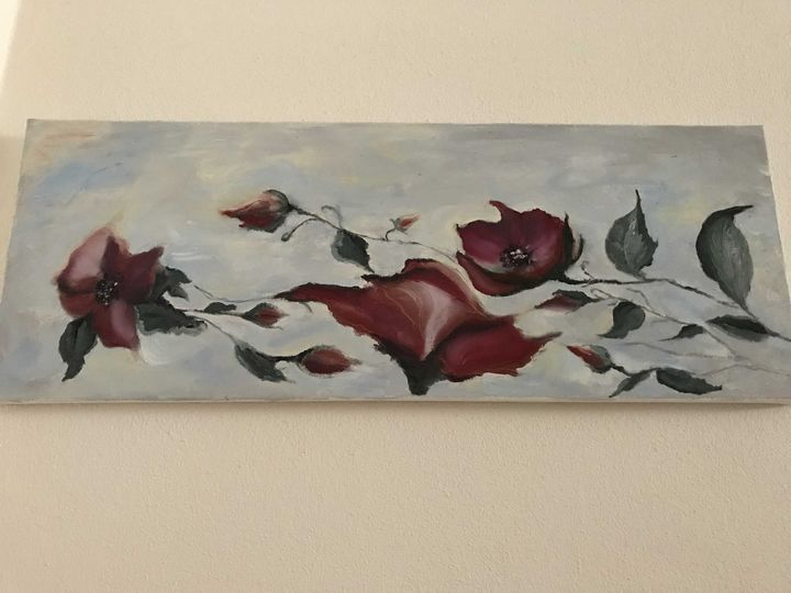 Flowers of my heart - Violetta Art