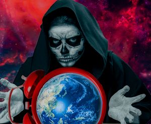 Death over a planet