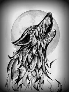 Monochrome Night Howl