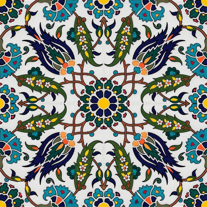 Turkish Pattern Wall Art Olivetreedsg Digital Art Ethnic Delectable Turkish Pattern