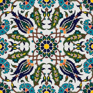 Turkish pattern wall art -  Olivetreedsg