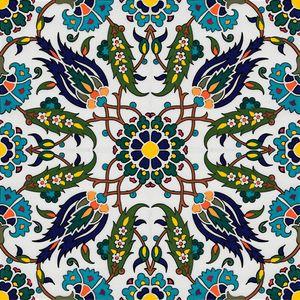 Turkish pattern wall art -  Olivetreedsg