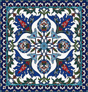 Armenian pattern wall art