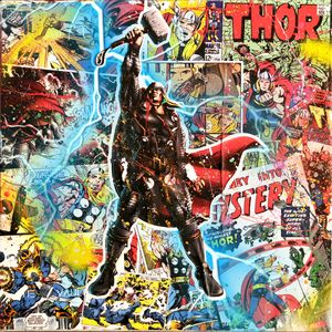 Thor- Pop Art Graffiti - The Vault