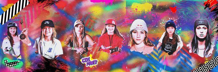 Girl Power- Street Art Graffiti - The Vault