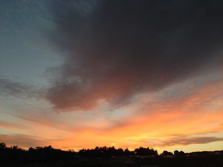 Firey Sky - B Bowers