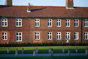Windows in Hampton Court Palace