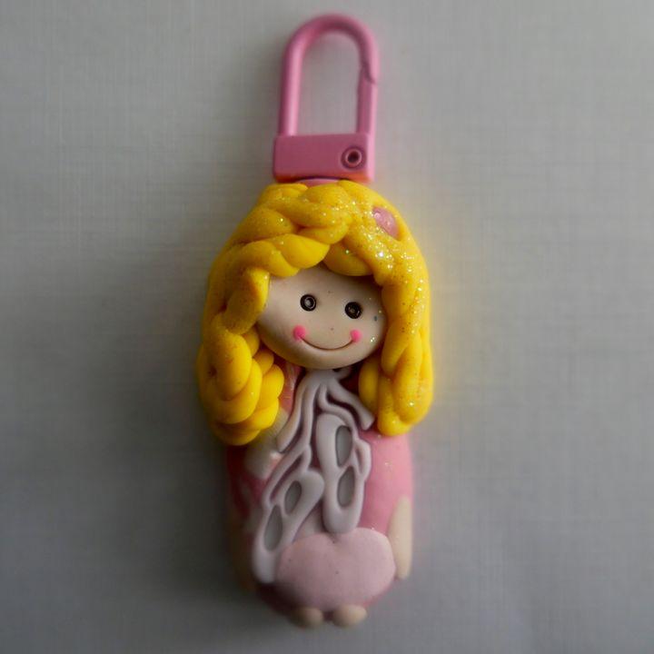 Personalized Cutie Beauty Keychain - Cutie Beautiez - Personalized