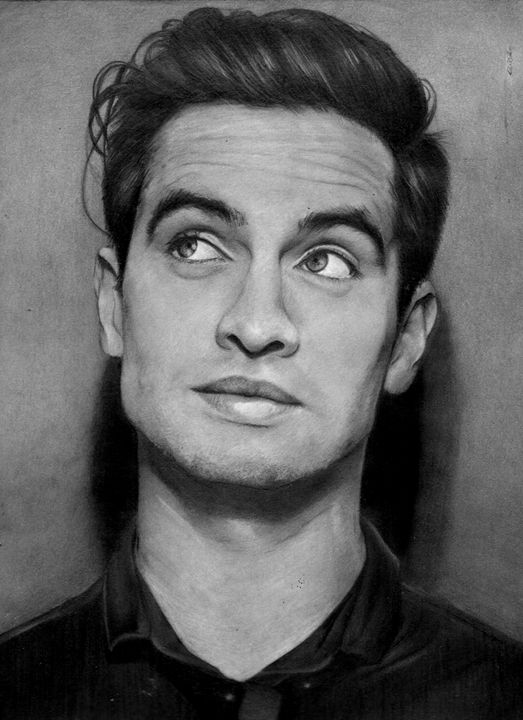 brendon urie sketch drawing 3 - Dans Art Studio