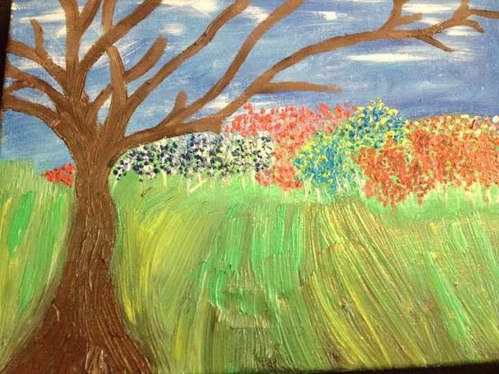Bare Brown Tree - Zuk