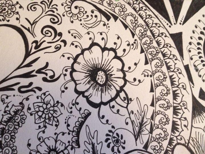 Black flower - Zuk