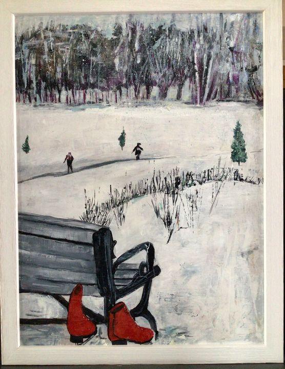 The red skates - Deleoncolors
