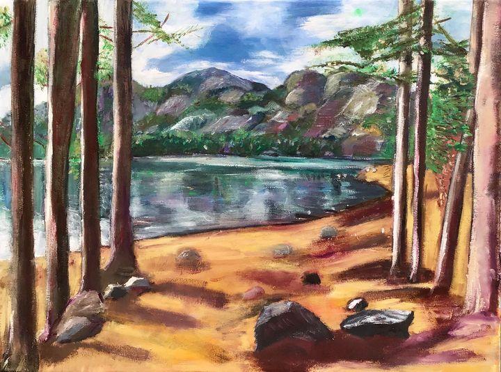 Lakeside bliss - Deleoncolors