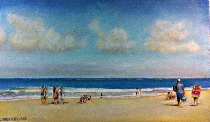 OCEAN PARK ON A SATURDAY - Jules Smith