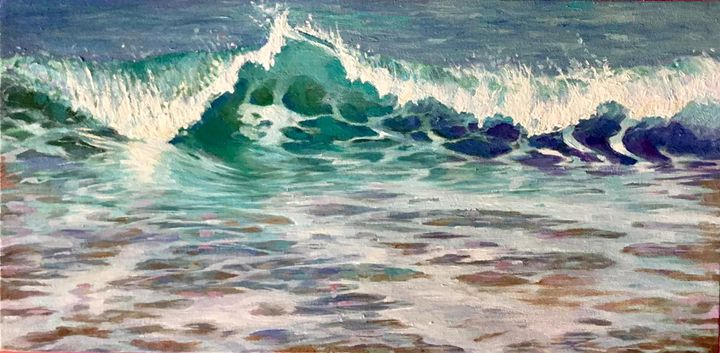 Dancing Waves in the Morning. - Jules Smith