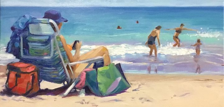 Day at the beach - Jules Smith