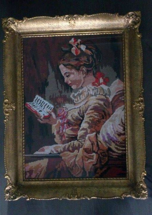 The Young Girl Reading - USTAI Gallery