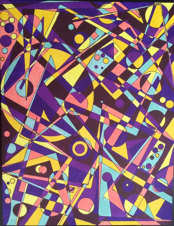 Purple Vibes - GeoVisions