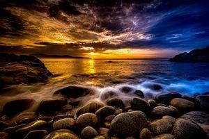 Golden Sunset - DangersTeez Digital Art