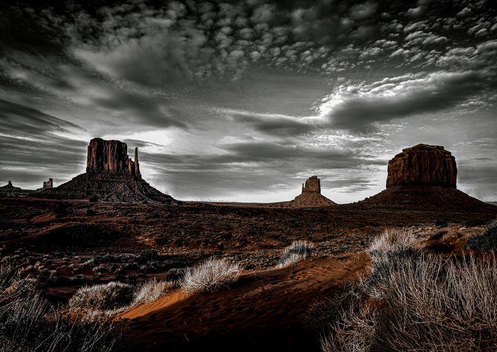 Monument Valley - DangersTeez Digital Art