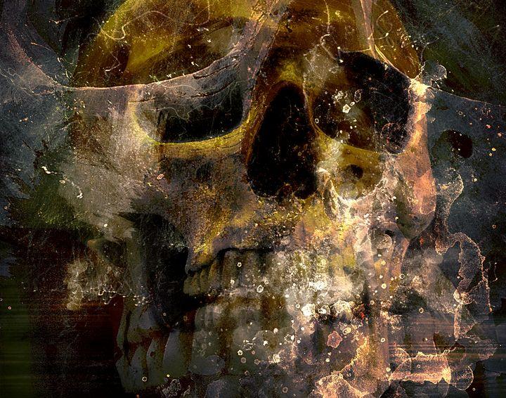 In The Crypt - DangersTeez Digital Art