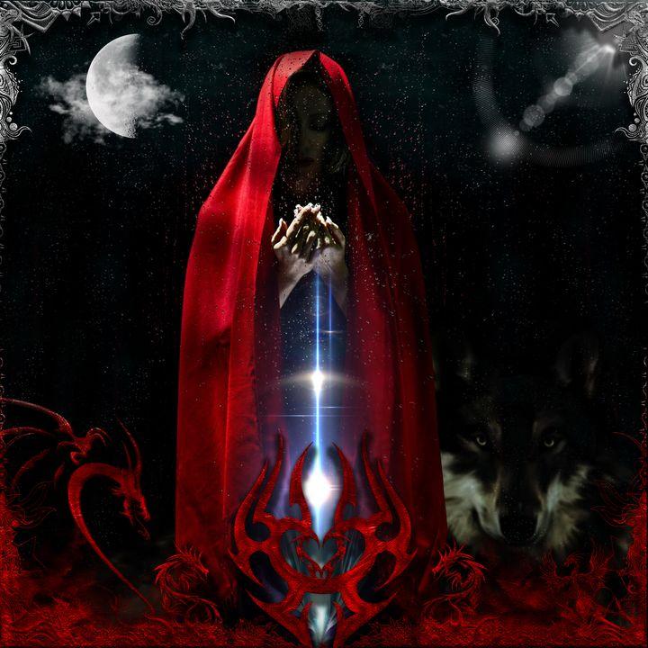 Little Red Riding Hood - DangersTeez Digital Art