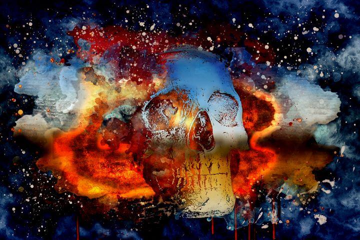 The Mist Of Death - DangersTeez Digital Art
