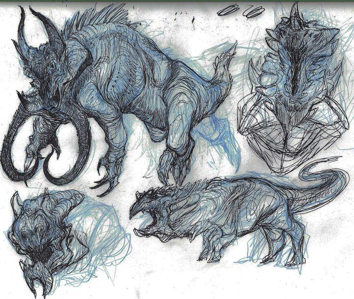 Kaiju Conceptual Designs - Creature_Creations