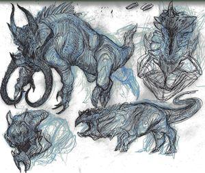 Kaiju Conceptual Designs