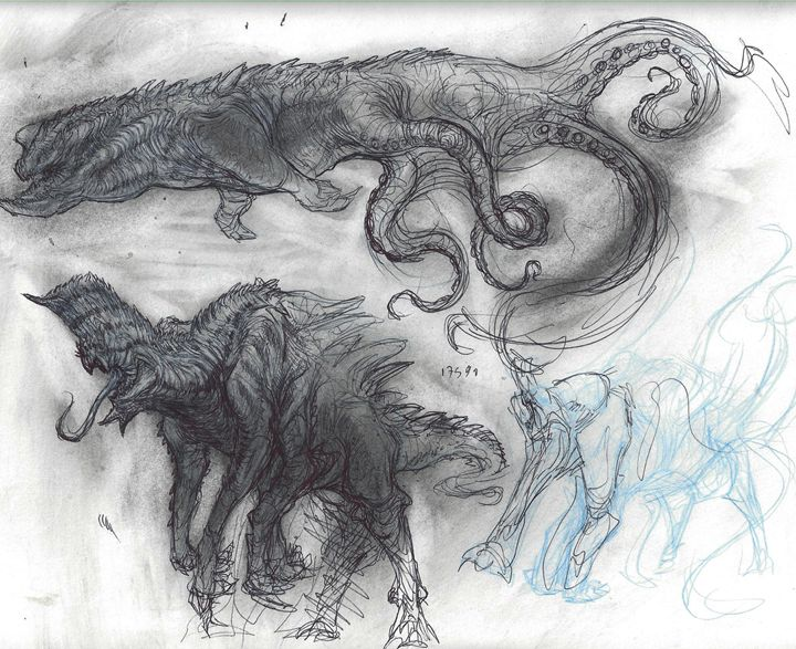 Kaiju Designs - Creature_Creations