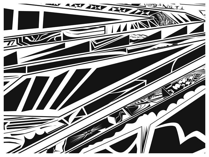 Storks (Detail) (1/1) - Benny Biesek Art