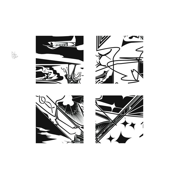 Four details, set (3/9) - Benny Biesek Art
