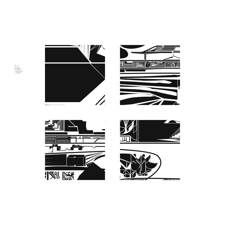 Four details, set (7/9) - Benny Biesek Art