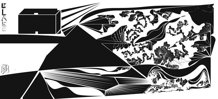 Glas City - Benny Biesek Art