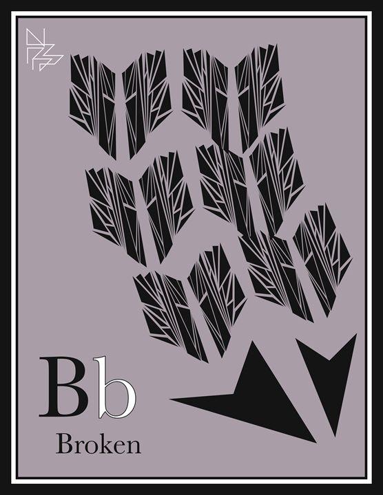 Broken - Benny Biesek Art
