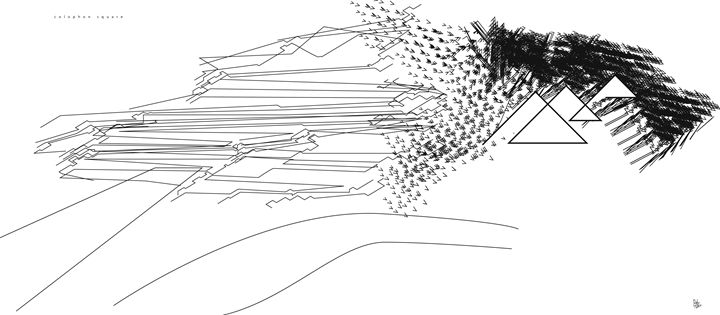 Colophon Square - Benny Biesek Art