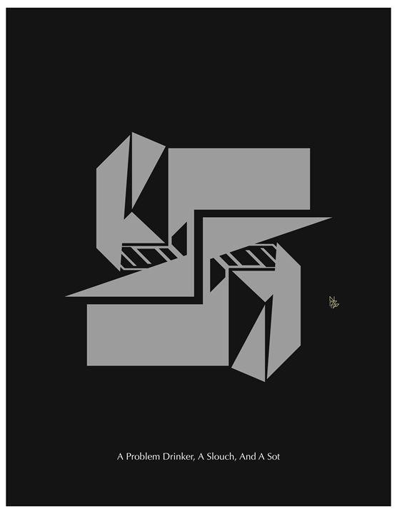 Trifecta print - Benny Biesek Art