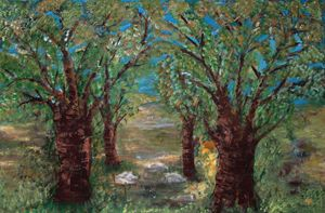 Trees in an Orchard